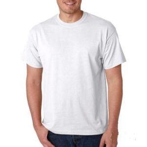 Plain T-Shirt - White