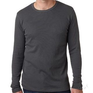 Men's Long Sleeve Thermal - Dark Grey -All Sizes