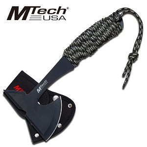 Wrapped Handle Throwing Axe