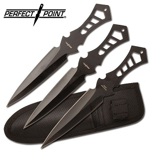 Perfect Point Throwing Knife set of 3