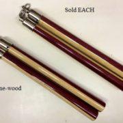 Two-Tone Wood Speed Nunchaku
