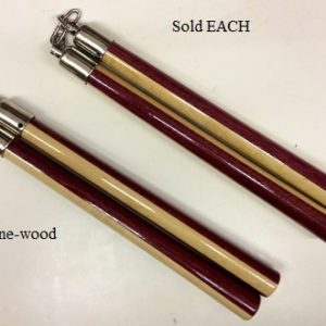 Two-Tone Wood Speed Nunchaku