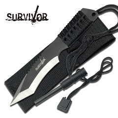 Survivor Knife w/Fire Starter