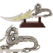 "Fantasy Dragon Knife Display 7.5"" Overall"