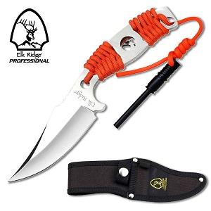 ELK RRIDGE Prol Fixed Blade Knife - Orange II
