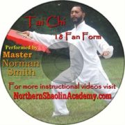 Tai Chi 18 Fan Form DVD -FREE SHIPPING