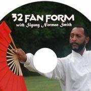 Tai Chi 32 Fan Form DVD - FREE SHIPPING