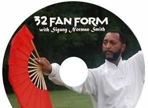 Tai Chi 32 Fan Form DVD - FREE SHIPPING