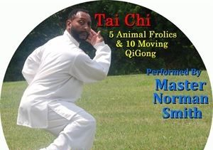 5 Animal Frolics+10 Moving Qigong - FREE SHIPPING