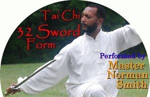 Tai Chi 32 Sword Form DVD --FREE SHIPPING