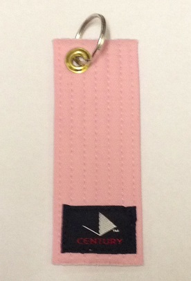 Rank Belt Keychain PINK