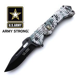 Digital US ARMY Green Camo Knife