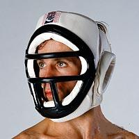 P/F Headguard w/ Face Cage- Large