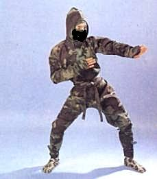 Camouflage Ninja Uniform-size   Small