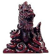 Dragon in Deep Red-A5405-4