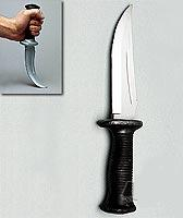Rubber Knife-10.75 inch