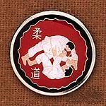 Judo Flip Pin