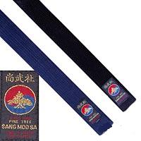Black & Midnight Blue Pine Tree Belts
