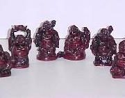 2-1/2 inch Buddha set of 6