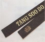 Satin TSD embroidered belt size 4