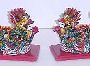 A Pair of Colorful Dragons-WS0110