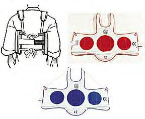 P/F TaeKwonDo Reversible Chestguard-Child