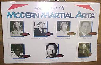 Founders of Modern Day Karate - Plaque