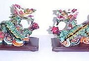 A Pair of Colorful Dragons-WS0112