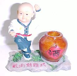 Kung Fu Kid Pen Holder-8803