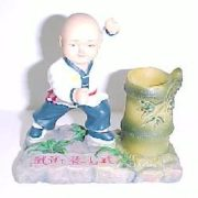 Kung Fu Kid Pen Holder-8802
