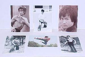 Set of 6 Bruce Lee Postcards 2