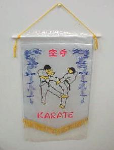 Karate Pennent