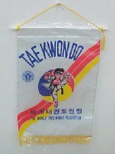 Taekwondo WTF Pennent