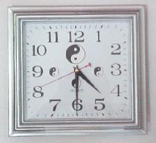 Yin & Yang Wall Clock-Square