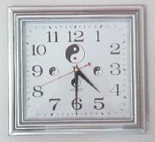 Yin & Yang Wall Clock-Square