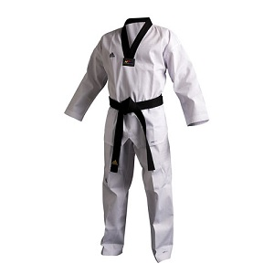 ADICHAMP TAEKWONDO UNIFORM - BLK TRIM
