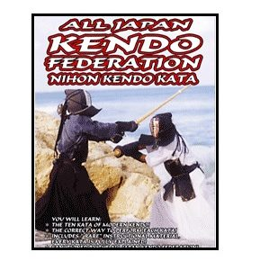 All Japan Kendo Fed. Nihon Kendo Kata-DVD