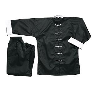 ProForce Gladiator Kung Fu Uniform Wushu Gi White or Black Button