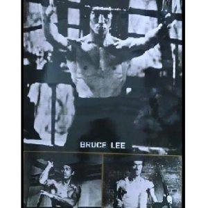 Bruce Lee B&W