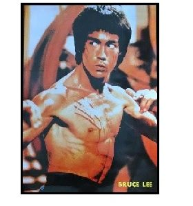 Bruce lee Body Pose