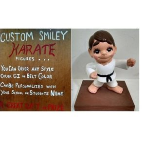 Custom Smiley Karate Figure