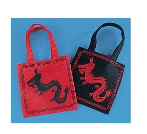 Dragon Tote Bags