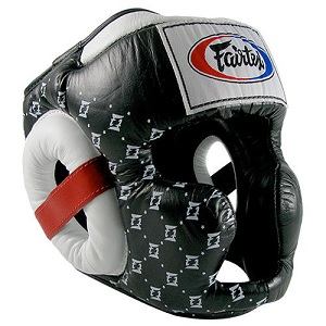 Fairtex Super Sparring Headguard – BLACK