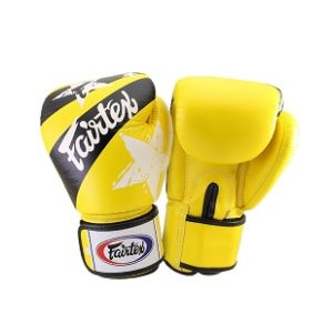 Fairtex Training Gloves With Nation Print – YELLOW