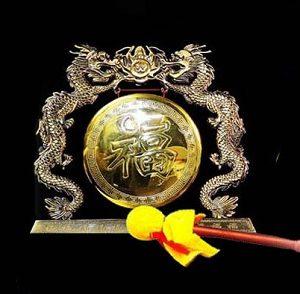 Fire Dragon Brass Gong BD800
