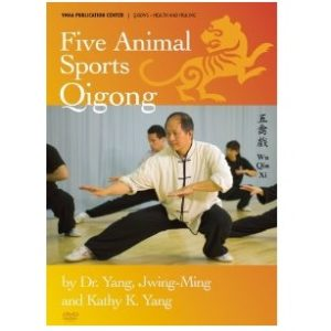 Five Animal Sports Qigong DVD