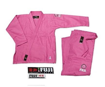 Fuji BJJ Womens Uniform Gi Pink