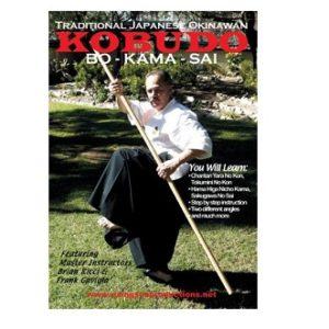 Kobudo BO-KAMA-SAI-DVD