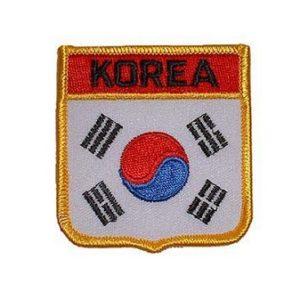 Korea Flag Shield