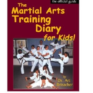 Martial Arts Training Diary for Kids